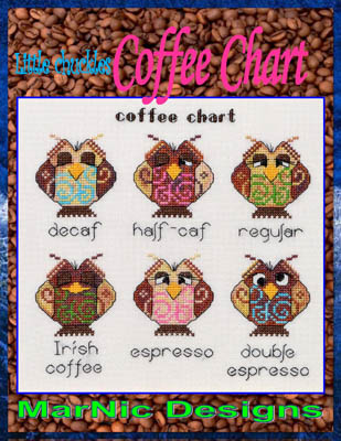 click here to view larger image of Coffee Chart (chart)