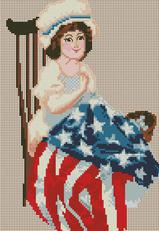 click here to view larger image of Lil Betsy Ross (chart)