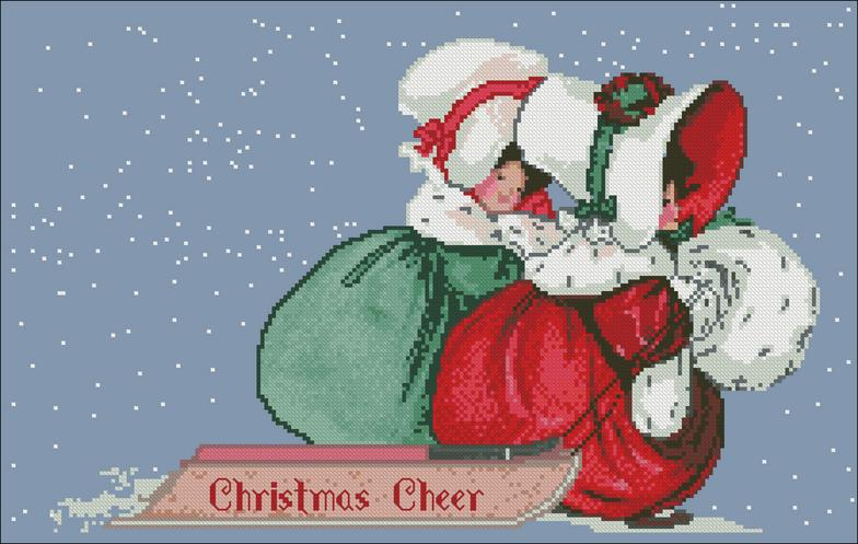 click here to view larger image of Christmas Cheer (chart)