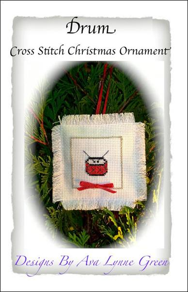 click here to view larger image of Drum Christmas Ornament (chart)
