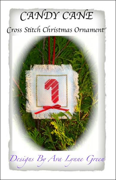 click here to view larger image of Candy Cane Christmas Ornament (chart)