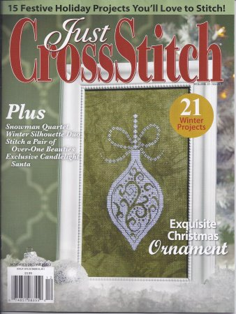 click here to view larger image of Just Cross Stitch - November/December 2013 (magazines)