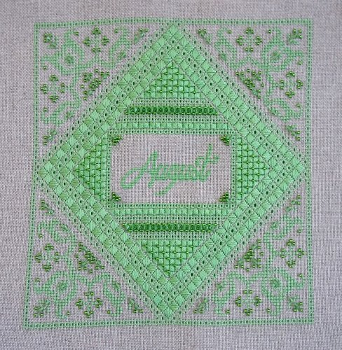 click here to view larger image of Birthstone Sampler - August Peridot (chart)