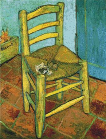 click here to view larger image of Van Gogh's Chair (chart)