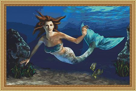 click here to view larger image of Adrienne the Mermaid (chart)