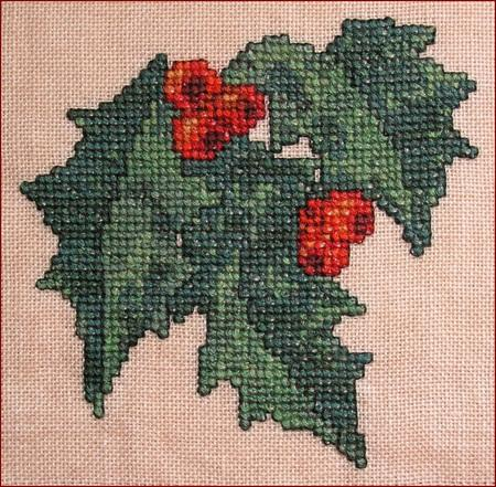 click here to view larger image of Autumn Leaves Quilt Block N (chart)