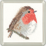 click here to view larger image of Robin - Little Friends Coaster Kit (chart)