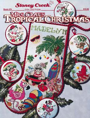 click here to view larger image of Mrs Claus Tropical Christmas (chart)