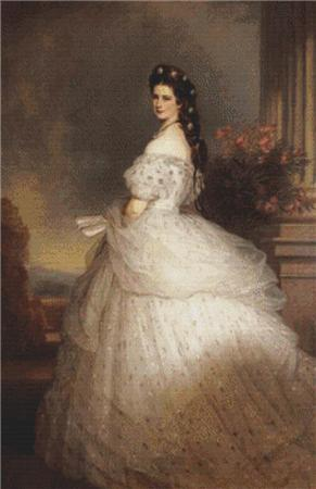 click here to view larger image of Elizabeth, Empress of Austria (chart)