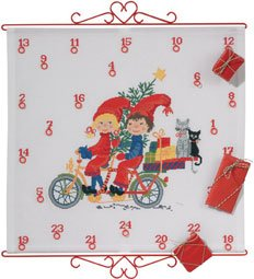 click here to view larger image of Advent Calendar (counted cross stitch kit)