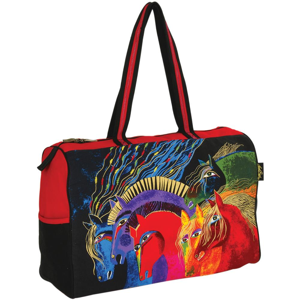 click here to view larger image of Wild Horses of Fire - Travel Bag Zipper Top (accessory)