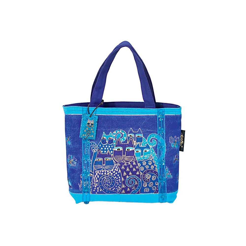 click here to view larger image of Indigo Cats - Mini Bag (accessory)