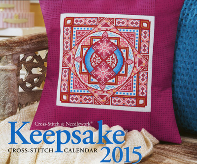 click here to view larger image of Cross Stitch and Needlework Keepsake Calendar 2015 (chart)