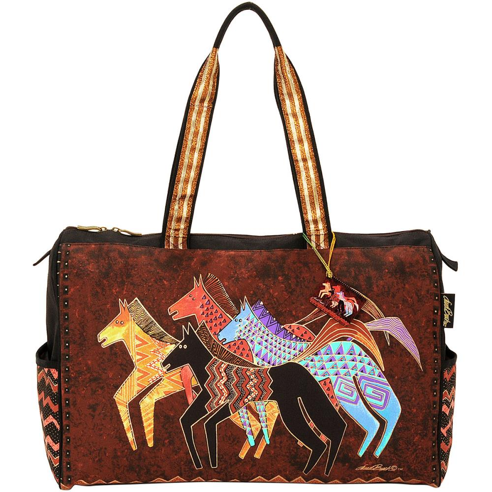 click here to view larger image of Native Horses - Travel Bag Zipper Top (accessory)