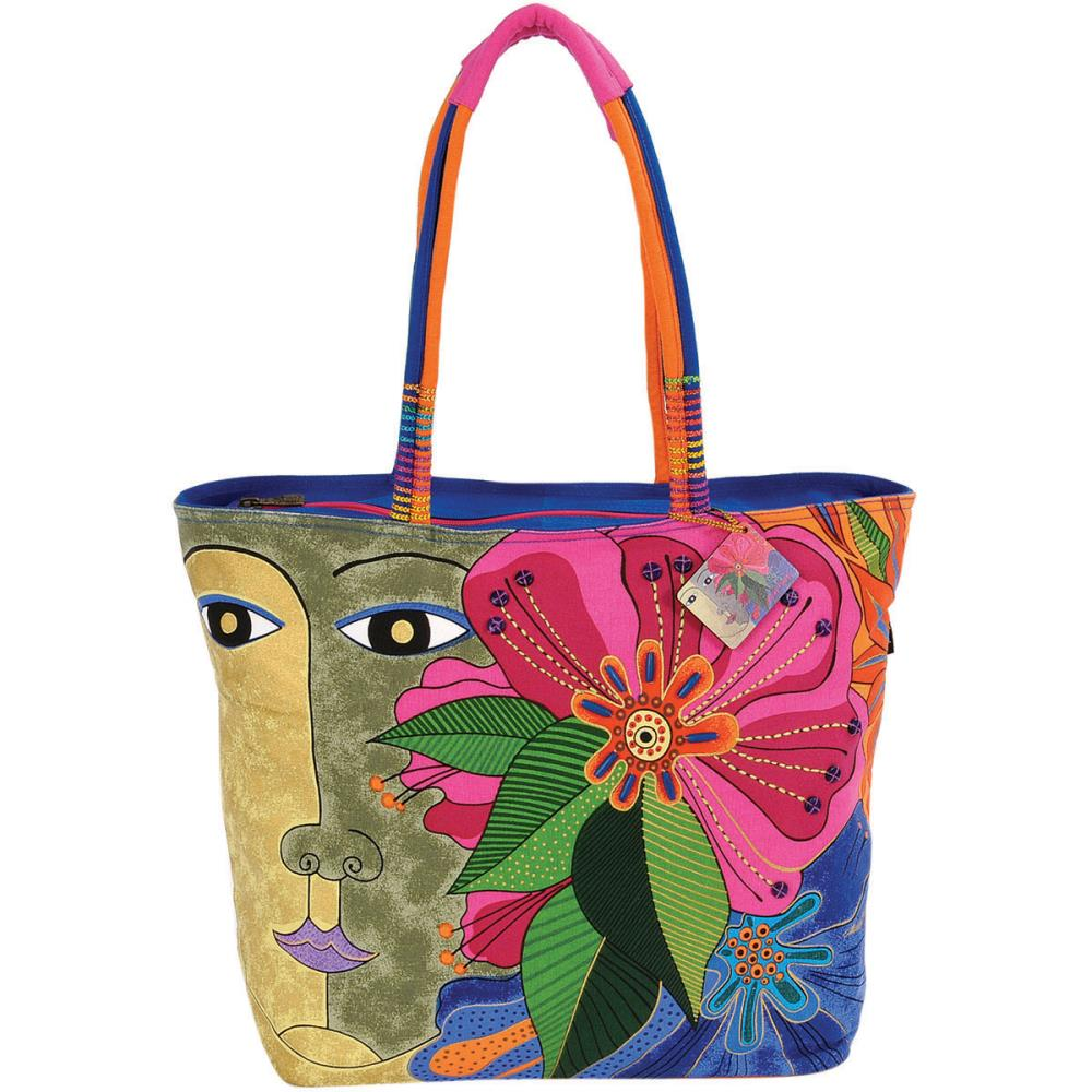 click here to view larger image of Blossoming Spirit - Shoulder Tote Zipper Top (accessory)