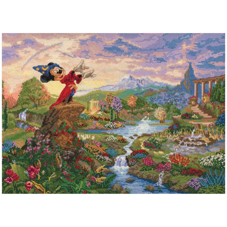 click here to view larger image of Fantasia (counted cross stitch kit)
