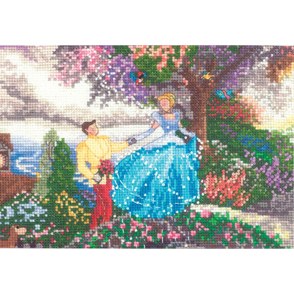 click here to view larger image of Cinderella 7x5 (counted cross stitch kit)