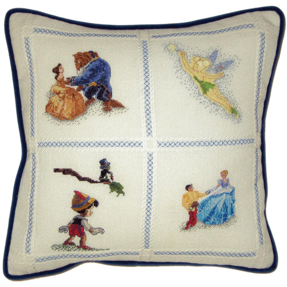 click here to view larger image of Disney Dreams Collection Pillow (counted cross stitch kit)