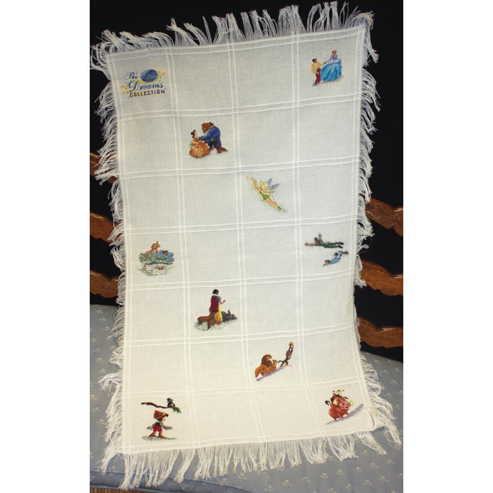 click here to view larger image of Disney Dreams Collection Afghan (counted cross stitch kit)