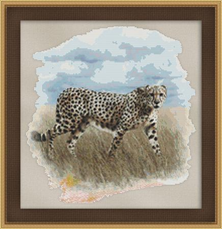 click here to view larger image of Cheetah Watercolor (chart)