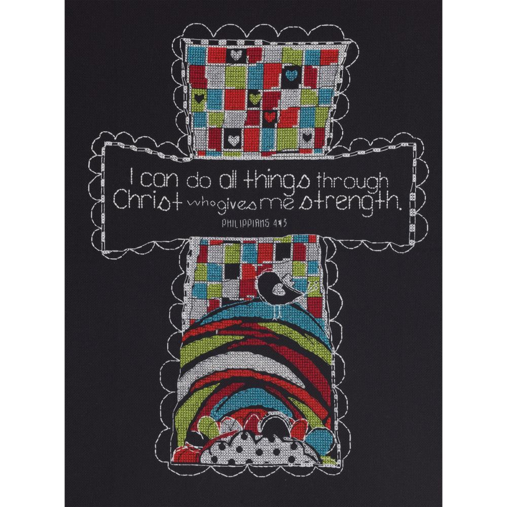 click here to view larger image of I Can Do All Things (counted cross stitch kit)