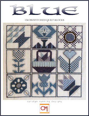 click here to view larger image of Blue - Cross Stitch Quilt Blocks (chart)