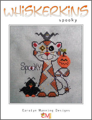 click here to view larger image of Spooky - Whiskerkins (chart with charms/buttons)