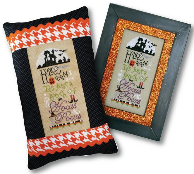 click here to view larger image of A Bunch of Hocus Pocus - Special Edition (counted cross stitch kit)