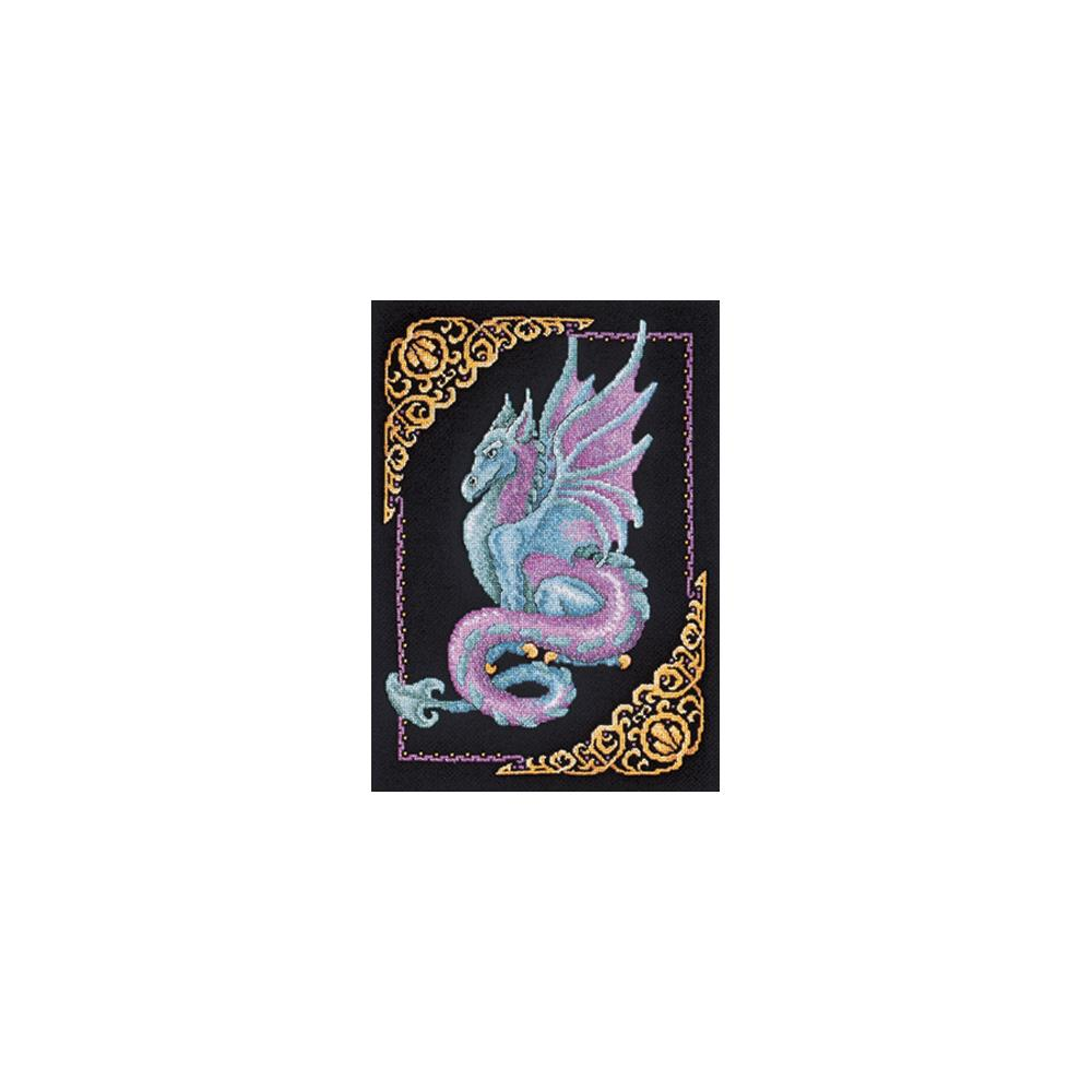 click here to view larger image of Mythical Dragon Picture (counted cross stitch kit)
