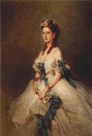 click here to view larger image of Alexandra, Princess of Wales (chart)