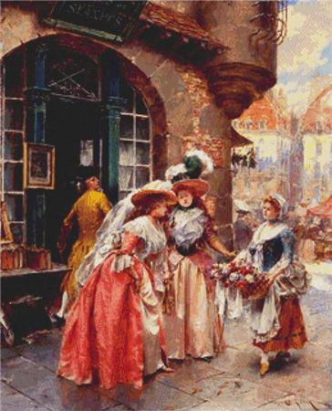 click here to view larger image of Flower Seller, The (chart)