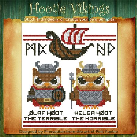 click here to view larger image of Hootie Vikings (chart)