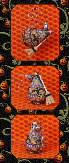 click here to view larger image of Miss Witchy Mouse - Limited Edition Ornament (chart)