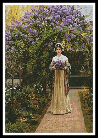click here to view larger image of Lilac  (Edmund Blair Leighton) (chart)