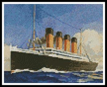click here to view larger image of Mini Titanic 2 (chart)