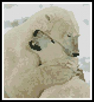 click here to view larger image of Mini Polar Bear Hug (chart)