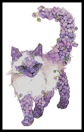 click here to view larger image of Lilac Cat  (Lena Faenkova) (chart)