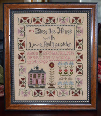 click here to view larger image of Bless This House With Love and Laughter (chart)