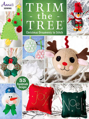 click here to view larger image of Trim the Tree - Christmas Ornaments (book)