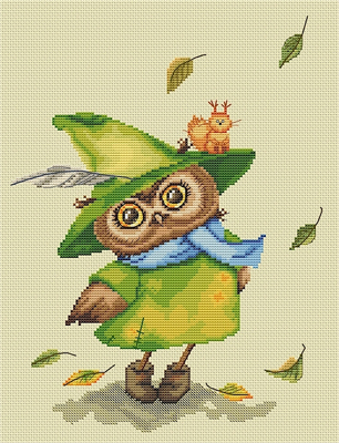 click here to view larger image of Autumn Owl (Paltser) (chart)