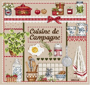click here to view larger image of Cuisine de Campagne (chart)