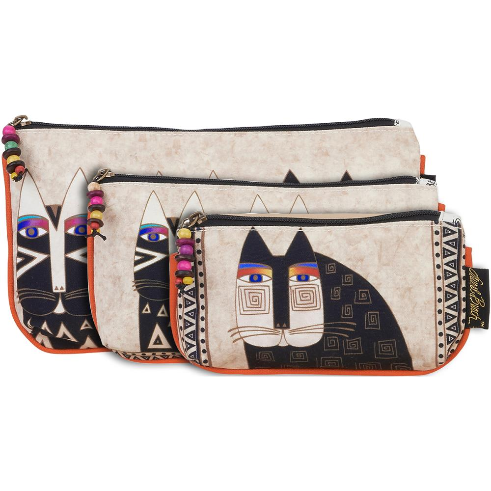 click here to view larger image of Wild Cats - Cosmetic Bag Set of Three (accessory)