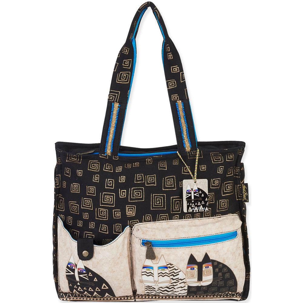 click here to view larger image of Wild Cats Shoulder Tote (accessory)