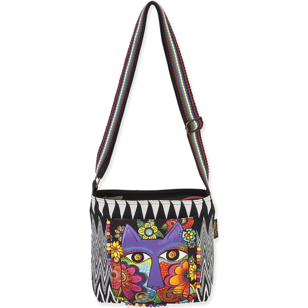 click here to view larger image of Blossoming Feline Crossbody bag (accessory)