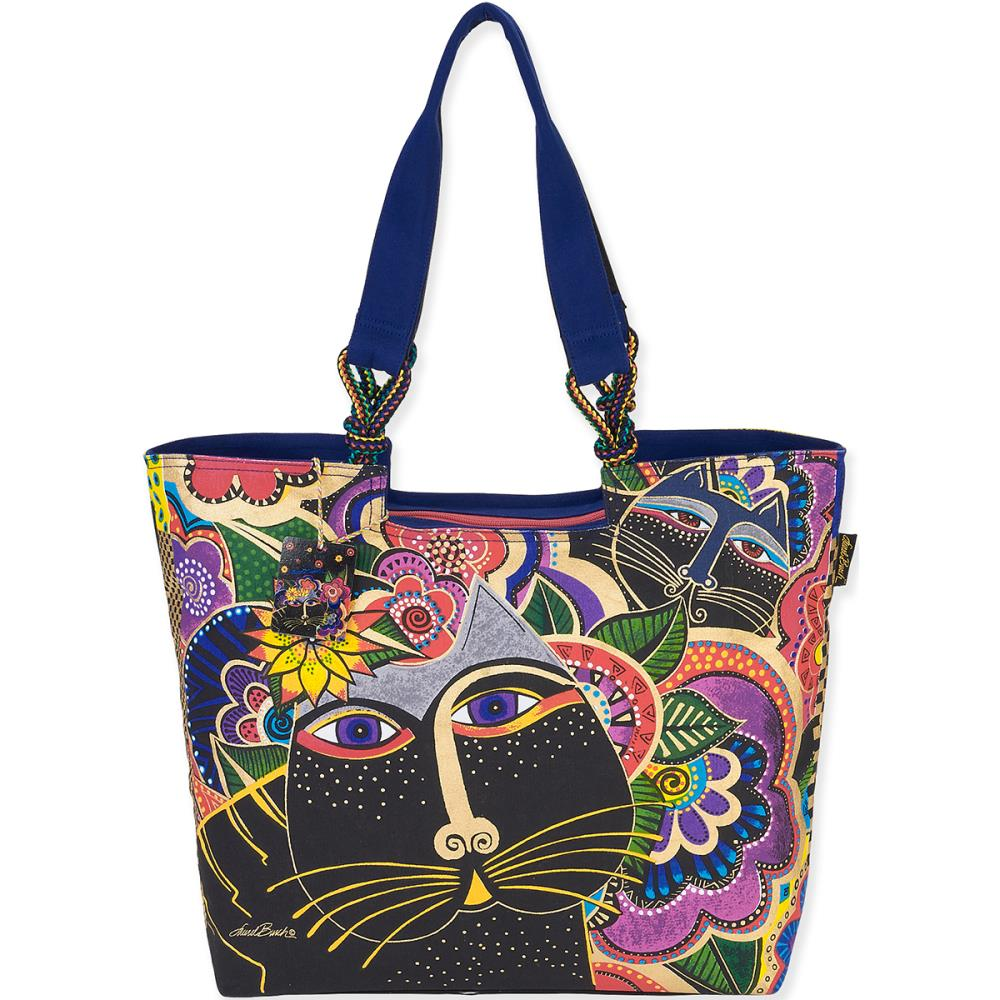 click here to view larger image of Carlotta's Cats Shoulder Tote (accessory)