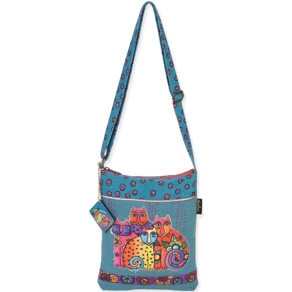 click here to view larger image of Feline Clan Long Satchel (accessory)