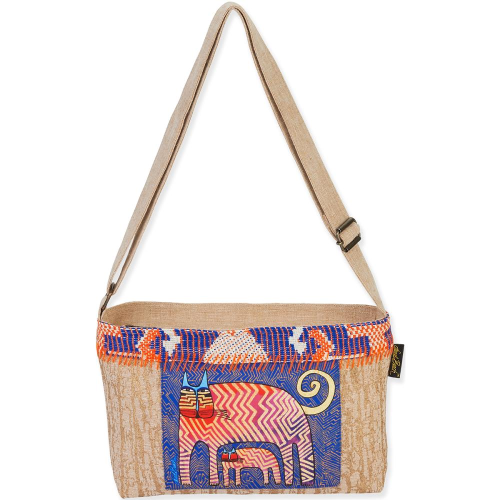 click here to view larger image of Zig Zag Gatos Folklorica Crossbody bag (accessory)
