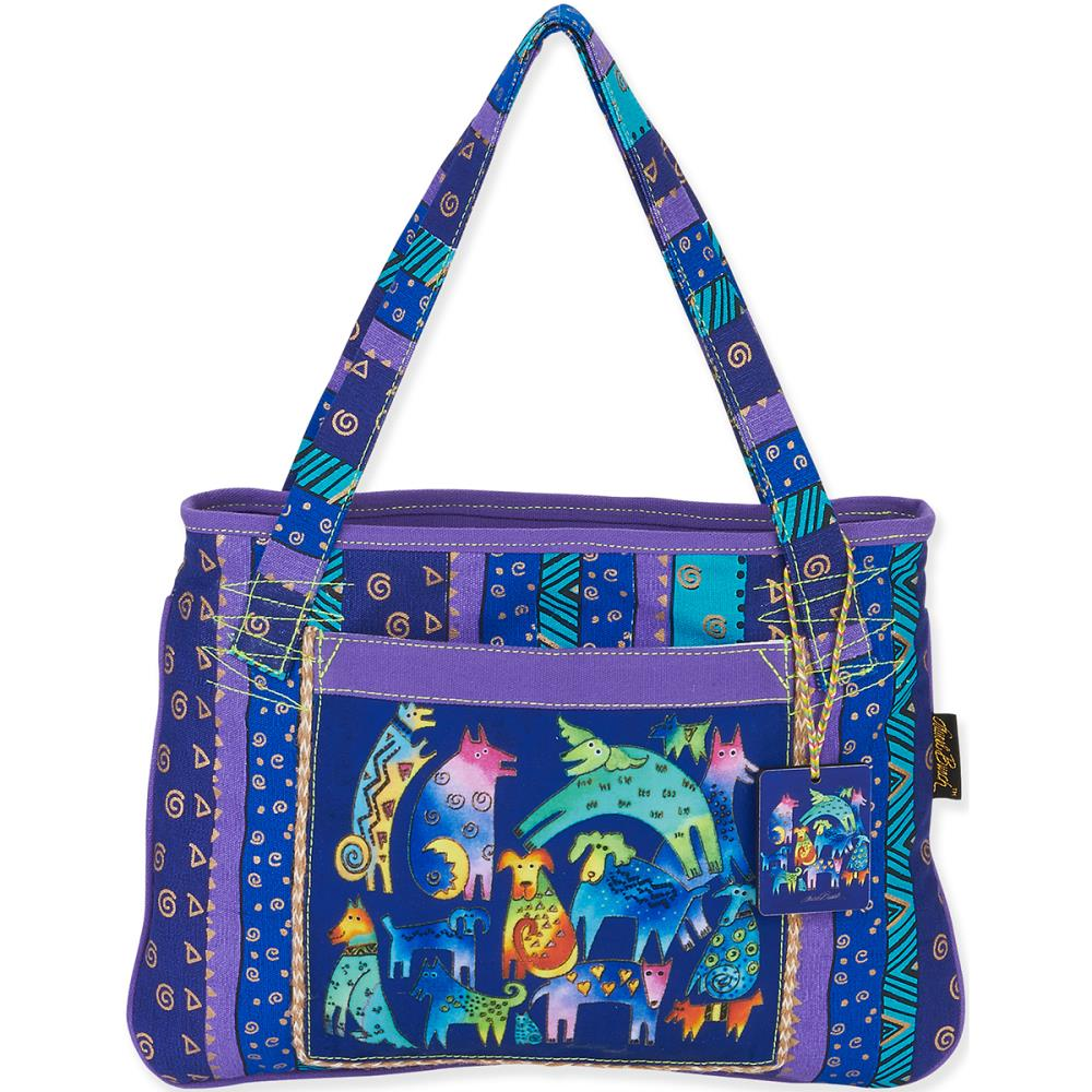click here to view larger image of Mythical Dogs Medium Tote (accessory)