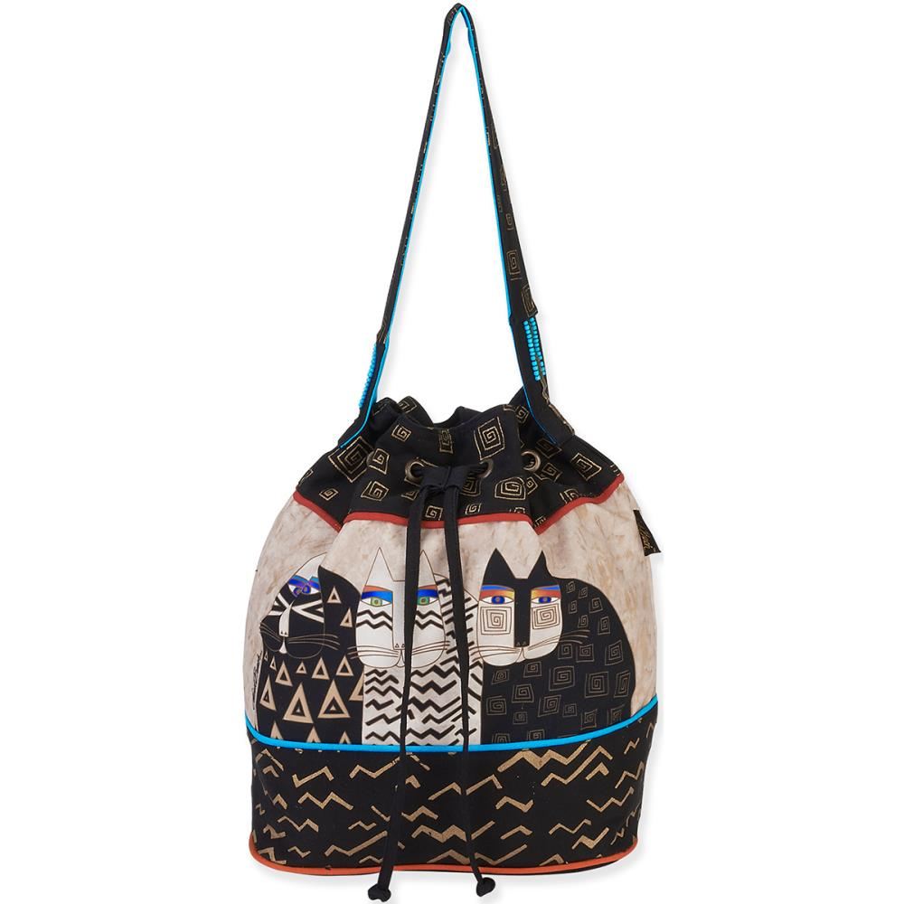 click here to view larger image of Wild Cats Drawstring  Bag (accessory)
