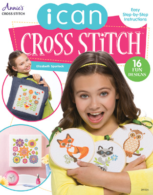 click here to view larger image of I Can Cross Stitch (book)